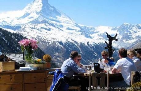 Chez Vrony, Zermatt, Swiss