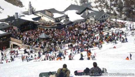 LA Folie Douce, Val D'Isère, Perancis