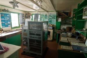 Ruang kerja Di Port Lockroy